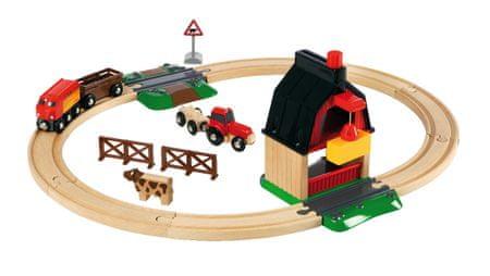 Brio železniški komplet Kmetija
