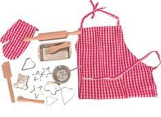 Woody Pečící kuchyňská sada s tvořítky a zástěrou