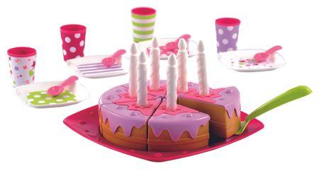 ECOIFFIER Birthday Cake Születésnapi torta és kiegészítők