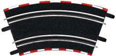 Carrera 61646 GO/D143 Klopená zatáčka 2/45 (4ks)
