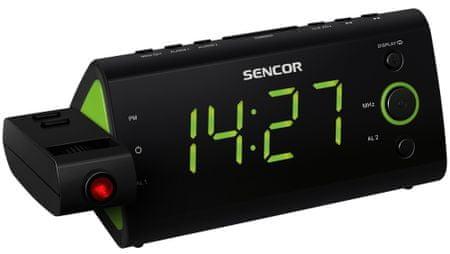 SENCOR radiobudzik SRC 330 GN