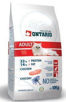 Ontario Adult Chicken macskaeledel - 10 kg