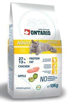 Ontario sucha karma dla kota Adult Indoor 10 kg
