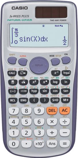 Casio FX-991ES PLUS - rozbaleno