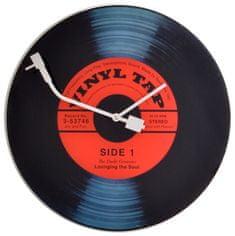 NEXTIME stenska ura X8141, gramofonska plošča