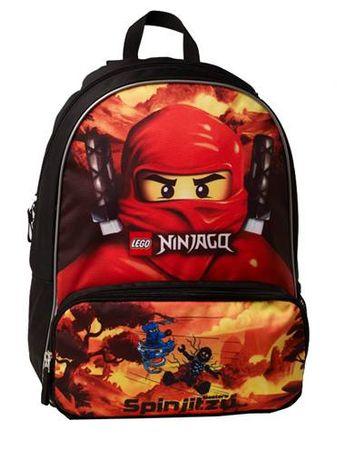 e9dbf6763a LEGO Školní batoh LEGO NINJAGO RED - Recenze