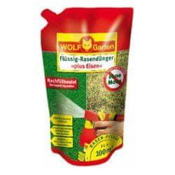 Wolf - Garten Trávníkové hnojivo proti mechu LM 100 R náhradní náplň, 1 l (3846025)