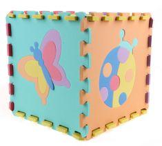 Alltoys Puzzle piankowe - Zwierzęta, 10 szt