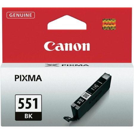CANON CLI-551Bk Tintapatron, Fekete