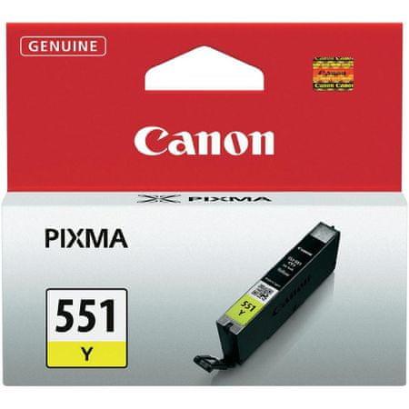 Canon tusz oryginalny CLI-551Y - Żółty (6511B001)