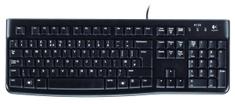 Logitech tipkovnica in miška Deskop MK120, USB