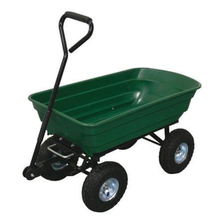 M.A.T Group Vozík záhradný sklápací 125 l