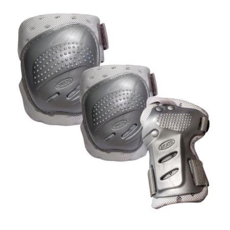 TEMPISH Coolmax Silver Görkorcsolya védőfelszerelés, XL