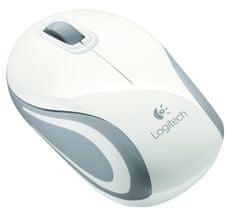 Logitech miš M187 (910-002740), bijeli