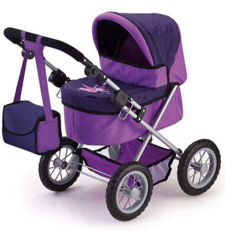 Bayer Design voziček za lutke Trendy, vijoličen