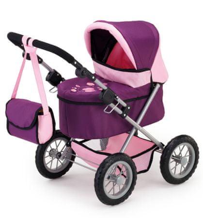 Bayer Design kolica za lutke Trendy, roza/ljubičasta