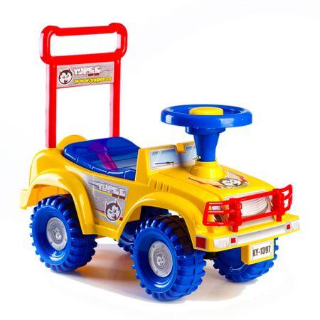 Yupee Futóbicikli Sárga Jeep