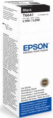 Epson oryginalny tusz T6641, czarny (C13T66414A)