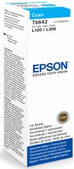 Epson oryginalny tusz T6642, cyjan (C13T66424A)