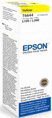 Epson oryginalny tusz T6644, żółty (C13T66444A)