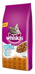 Whiskas mačja hrana Sterile, 14 kg - Poškodovana embalaža