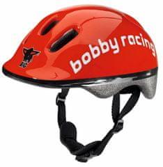 BIG otroška čelada Racing, rdeča