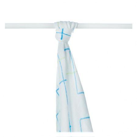 XKKO Bambusz törölköző 90 x 100 cm, Kék