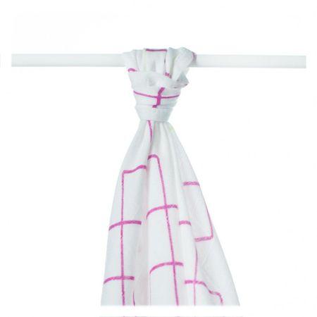 XKKO Bambusz törölköző, Rózsaszín, 90 x 100