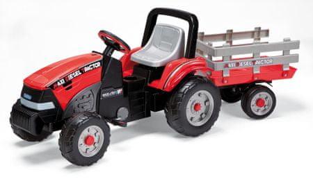 Peg Perego Traktor na pedala s prikolico Maxi Diesel - Odprta embalaža
