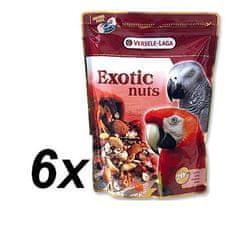 Versele Laga mieszanka orzechów, ziaren i nasion dla dużych papug Exotic 6 x 750g