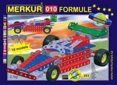 Merkur 010 Formule Építőkészlet, Fém