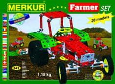 Merkur Farmer építőkészlet, Fém
