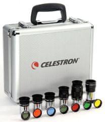 """Celestron Eyepiece-výmenné okuláre ku hvězdář.dalekohledům SET 1,25""""(94303)"""