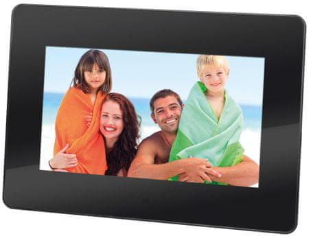 Trevi DPL 2210 digitalni foto okvir, crni