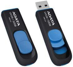 A-Data UV128, 32GB, čierny/modrý