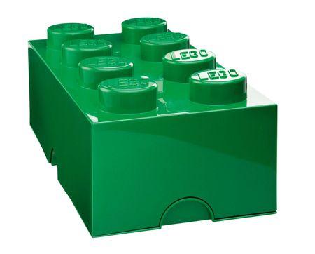 LEGO Pojemnik na klocki 8 400, ciemnozielony