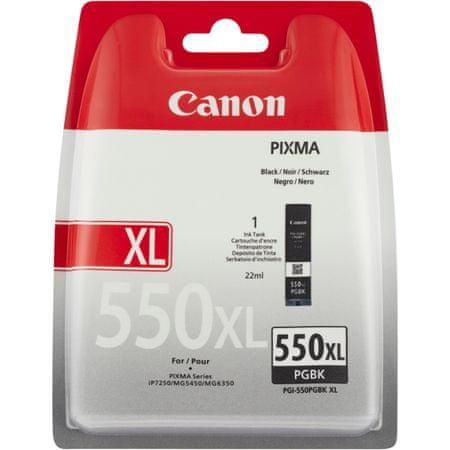 Canon pigment atramentowy PGI-550 XL BK, czarny (6431B001)