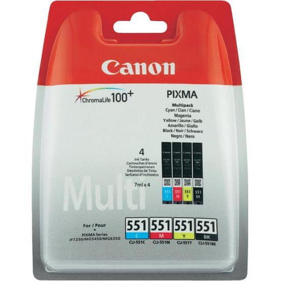 Canon CLI-551CMYBK Multipack (6509B009), barevná