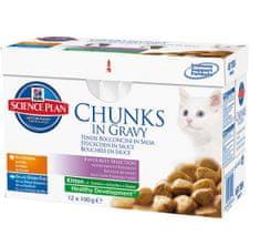 Hill's SP Feline Kitten Chicken & Fish 12x85 g