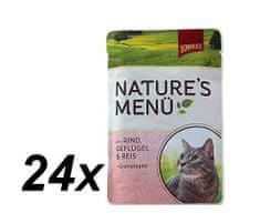 Schmusy hrana za macke Nature, govedina i piletina