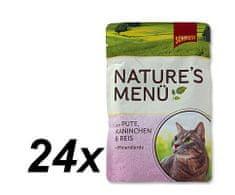Schmusy hrana za macke Nature, puretina i zecetina