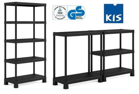 Kis Plus Shelf Tribac/5 Polc