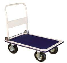 Erba transportni voziček z napihljivimi kolesi, 300 kg