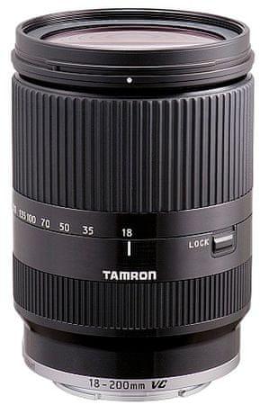 Tamron objektiv 18-200 VC (Sony E-mount), črn