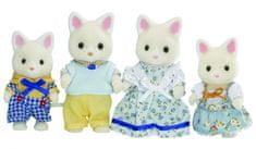 Sylvanian Families Rodina hedvábných koček 3143