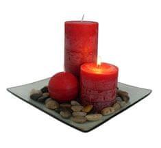 Toro Dárkový set 3 svíčky s vůní skořice