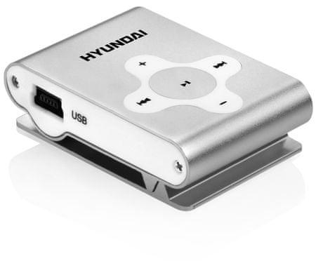 HYUNDAI odtwarzacz MP3 MP 212 Silver