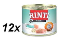 Rinti Sensible mokra hrana za pse, piletina i riža, 12 x 185 g