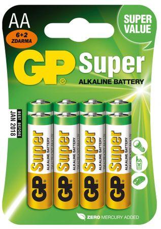 GP BATERIE GP 15A R06 BL 6+2