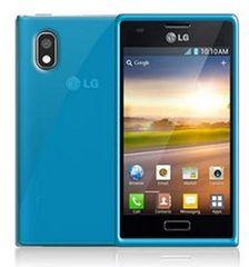 CELLY Gelskin silikonový obal LG Optimus L7 II, modrý